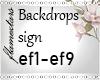 Custom Sign Ef0-9