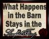 *ST* Barn Wall Saying 8.