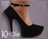 K black heels