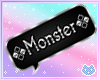 Monster Bubble Sign