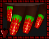 -A- Strawberry Nails