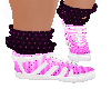 Pink Purple sock shoe