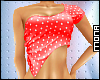 ~W~ Polka Dot Top Red
