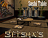 [M] Geisha's Sushi Table