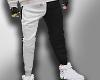 (MD) Black&white pants