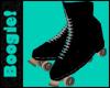 Retro Black Skates