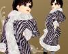 Winter Coat [zebra]