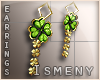 [Is] Clover Earrings