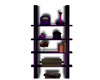 Purple Deco Ladder Shelf