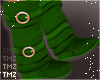 Sweater Boots -Green