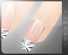 !V ~ zEBRA manicure