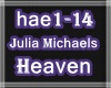 ❤Julia Michaels-Heaven