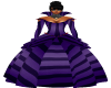 Purple Vamp Ball Gown