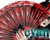 *c* Crimson Cherry Fan
