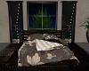 Boho Black Bed