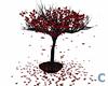 GOTH RED TREE