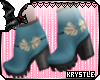 � Vintage Blue Stomps