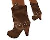 'Tan Cowgirl Boots