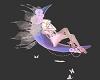 Doll on moon Sticker