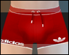 Red  Swim Trunks