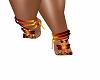 Orange Foot Wrap