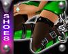 |CAZ| Bellz Boots Green