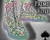 Cat~ Prime Rose .Boots