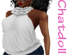 C]Couture top #White