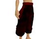 red gogeta pants