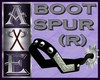 X Boot Spur (Right)