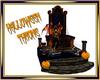 Halloween Throne