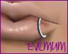 [EM]Metal Lip Ring Lt