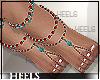 !H! Nuri jewelry feet
