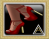 (AL)Joy Heels Red