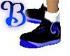 Black kickass shoes