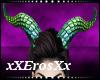 Devil Horns Green