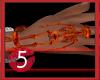 Skeleton Bracelet Orange