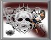 Skull+Spiderweb 2x Side