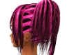 pink rave hair