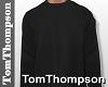 ♕ Black Sweater