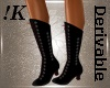!K! Vintage Laceup Boots