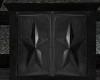 Stars Black Dresser