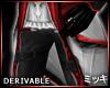 ! Crimson Vampire Pants