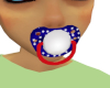 Red White Blue Pacifier
