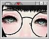 ☪ Black Round Specs.