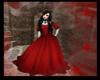 {LF} Red Velvet Gown