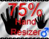 *M* Hand Scaler 75%