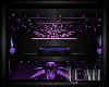 xLx Purple Ceiling Light