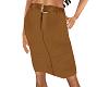 TF* Tan Straight Skirt