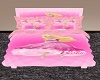 40%Kids Pink Barbie Bed